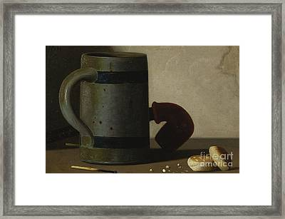 Stein And Biscuits Framed Print by Celestial Images