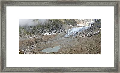 Stein Glacier, Switzerland Framed Print by Science Photo Library