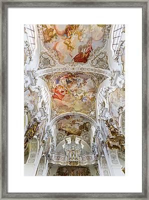Steingaden Abbey Framed Print