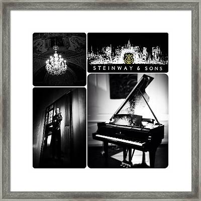 Steinway And Sons Framed Print by Natasha Marco