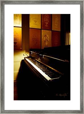 Steinway Framed Print by Cheri Randolph