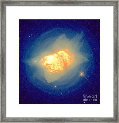 Stellar Death Framed Print by Science Source