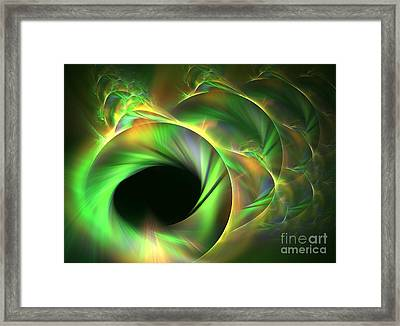 Stellar-wind Bubble Framed Print by Kim Sy Ok