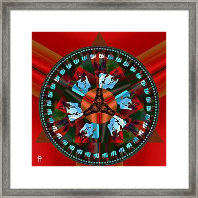 Stem Wowle Framed Print by Jim Pavelle