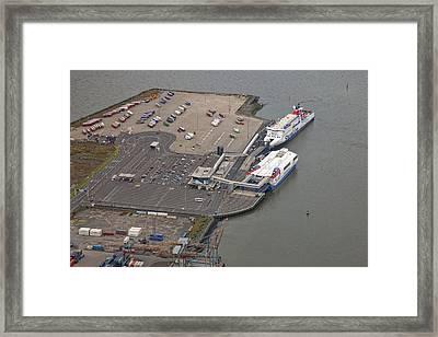 Stena Line Belfast Terminal, Belfast Framed Print by Colin Bailie