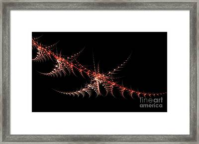 Framed Print featuring the digital art Stength And Backbone by Steed Edwards