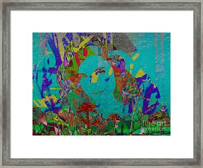 Stenographic Lover Framed Print by J Burns