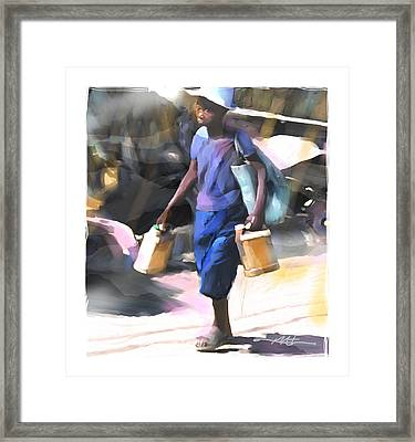 Step By Step Framed Print by Bob Salo