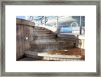 Step By Step Framed Print by Betsy Knapp