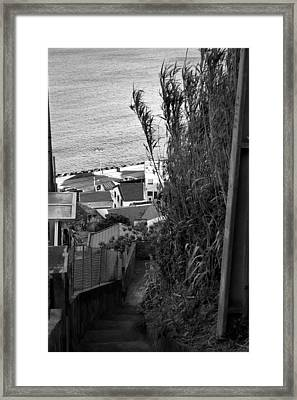 Step Down Framed Print