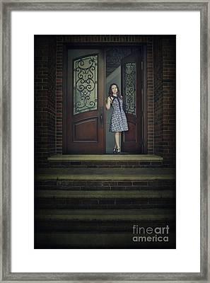 Step Into My Dream Framed Print by Evelina Kremsdorf