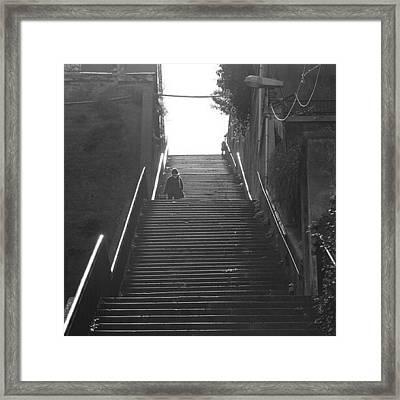 Step Out..  Framed Print