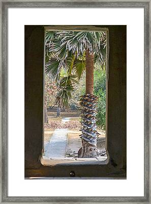 Step Through Framed Print