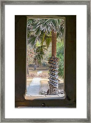 Step Through Framed Print by Bill Mock