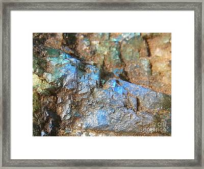 Step To Bliss Framed Print