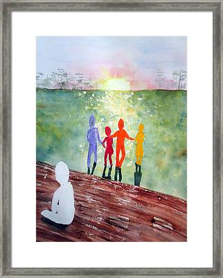 Stepchild In The Promised Land Framed Print by Joann Perry