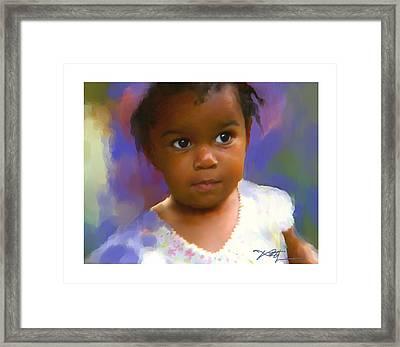 Stephanie Framed Print by Bob Salo