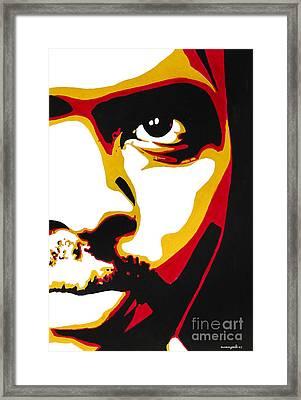 Stephen Bantu Biko Framed Print