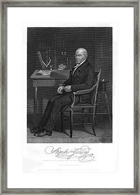 Stephen Girard  American Statesman Framed Print by Mary Evans Picture Library