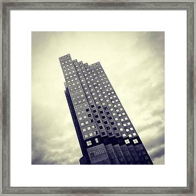 Stephen P. Clark Bldg. - Miami Framed Print