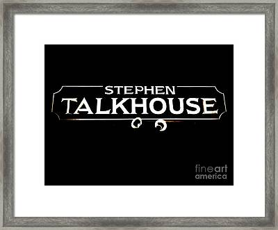 Stephen Talkhouse Framed Print