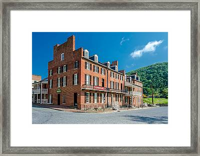 Stephenson's Hotel Framed Print by Guy Whiteley
