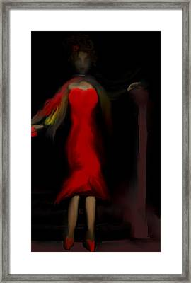 Steppin Out Framed Print by Jessica Wright