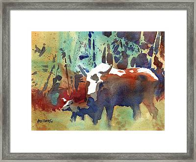 Steppin' Out Framed Print by Kris Parins