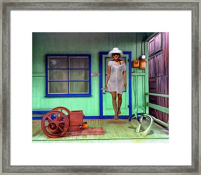 Steppin Out Framed Print by Snake Jagger