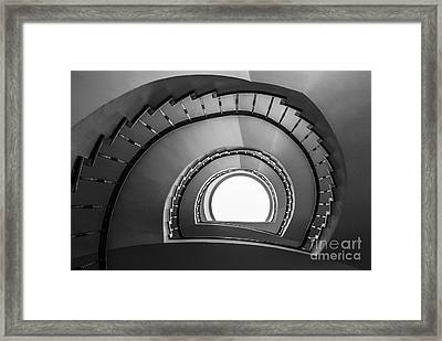 steppin up II Framed Print by Hannes Cmarits