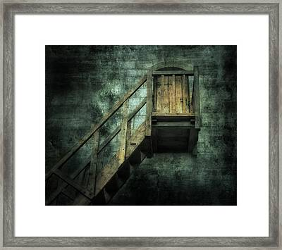 Stepping Into Mystery Framed Print by Svetlana Sewell