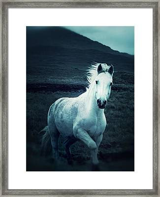 Stepping Into The Light Framed Print by The Art With A Heart By Charlotte Phillips