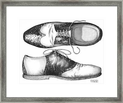 Stepping Out Framed Print by Adam Zebediah Joseph