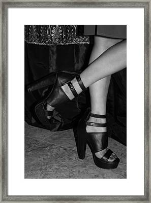 Stepping Out Framed Print by Ester  Rogers