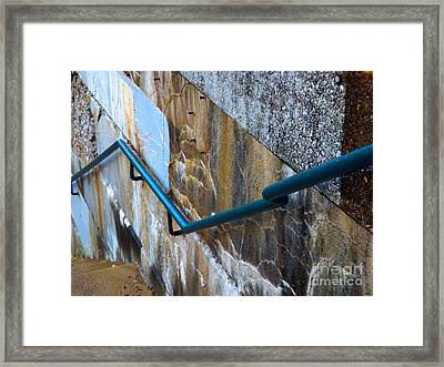 Stepping Outside The Lines Framed Print by Robyn King