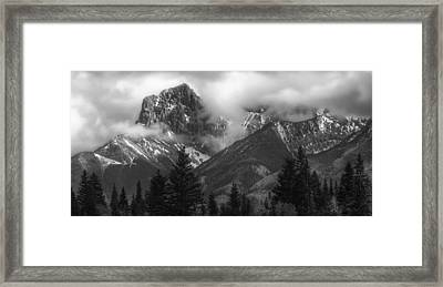 Stepping Stones Framed Print by Stuart Deacon