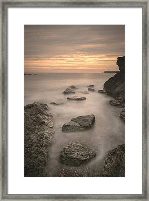 Stepping Stones To Oblivion Framed Print by Andy Astbury