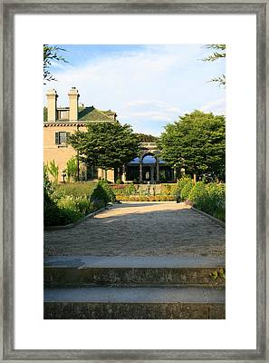Stepping Up  Framed Print by Neal Eslinger