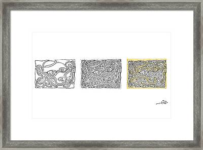 Steps Framed Print by Miha Mohoric