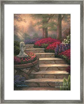 Steps Of Providence Framed Print by Chuck Pinson