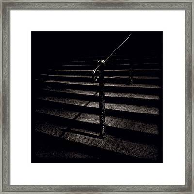 Steps To Advocate's Close Framed Print by Dave Bowman