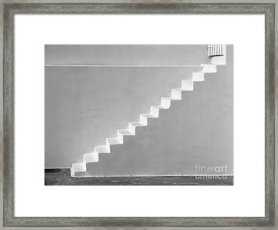 Framed Print featuring the photograph Steps To Heaven by Ana Maria Edulescu