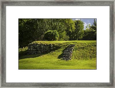 Steps To Nowhere Framed Print by Christine Nunes