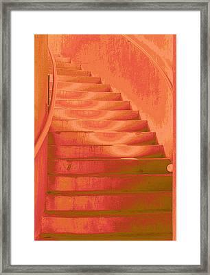 Steps Framed Print by Wendy J St Christopher