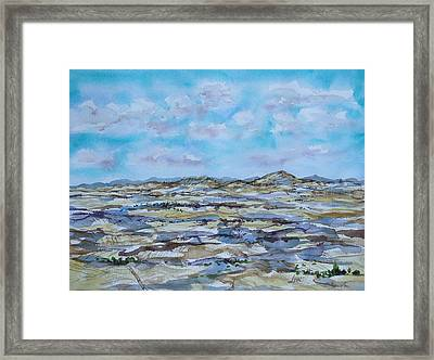 Steptoe Butte 1 Framed Print by Lynne Haines