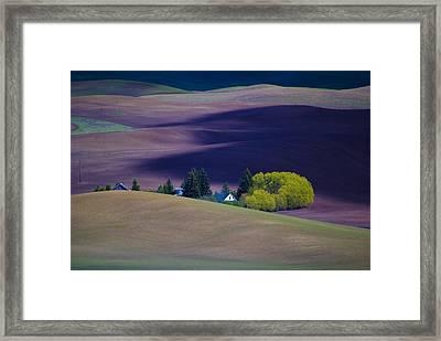 Steptoe View Framed Print