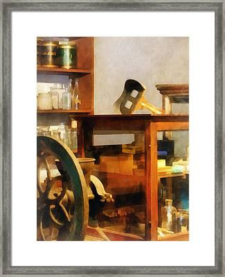 Stereopticon For Sale Framed Print by Susan Savad