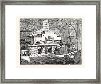 Stereotype Foundry Framed Print by English School