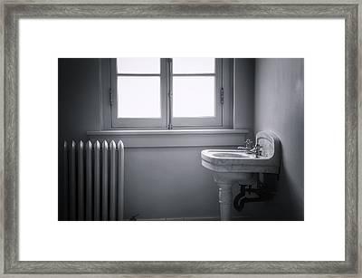 Sterile Framed Print