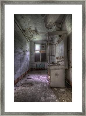 Sterile  Framed Print by Nathan Wright